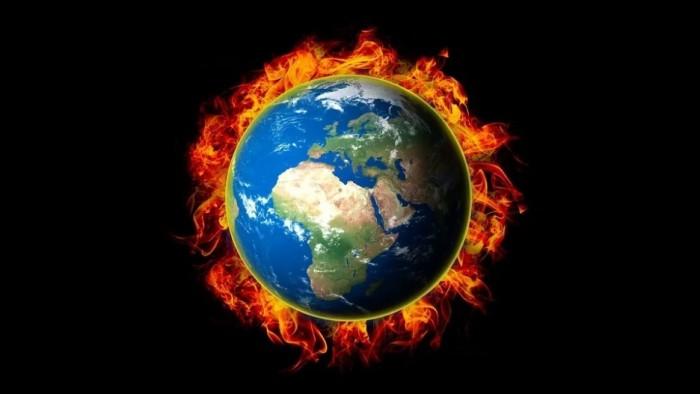 불타는 지구